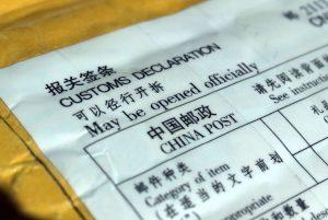 send pakke til udlandet
