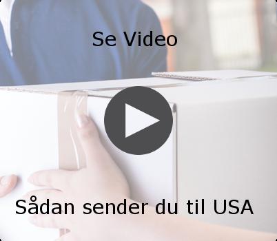 Send pakke USA billigt - Sammenlign fragtpriser
