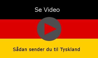 Send pakke til Tyskland Billigt - Sammenlign fragtpriser