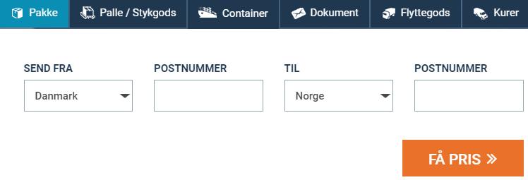 Ringe billig fra danmark til norge